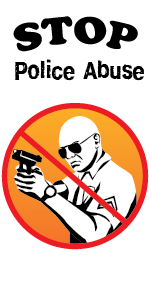 Stop Police Abuse Decal